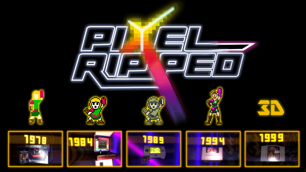 Pixel Ripped 1989 Bemutató