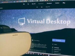 Virtual Desktop Oculus Go Bemutató