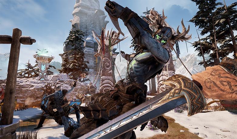 – Gameplay-en az Asgard's Wrath