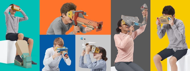 Kap egy VR kiegészítőt a Nintendo Switch is