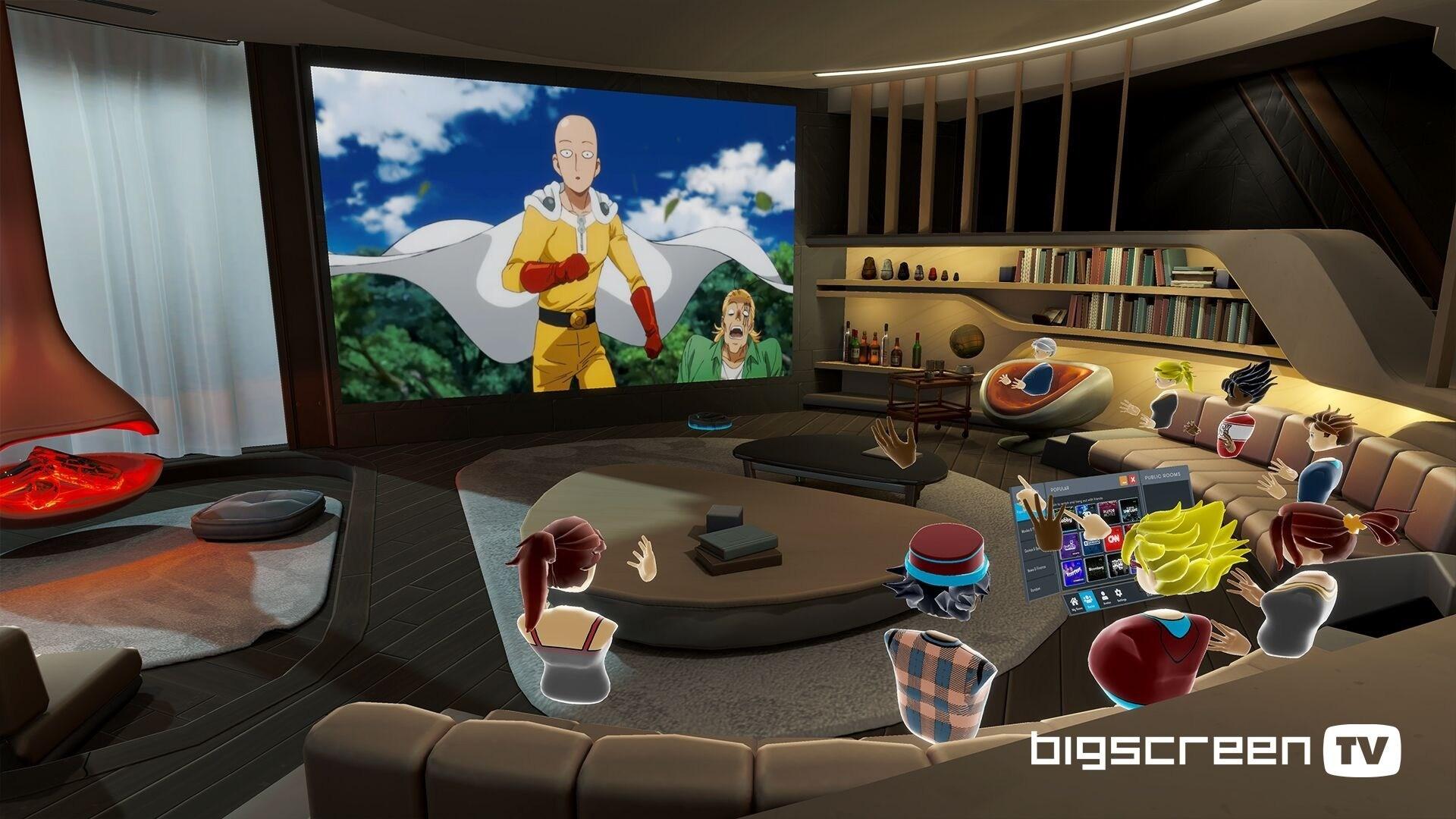 Jelentős frissítést kapott a Bigscreen