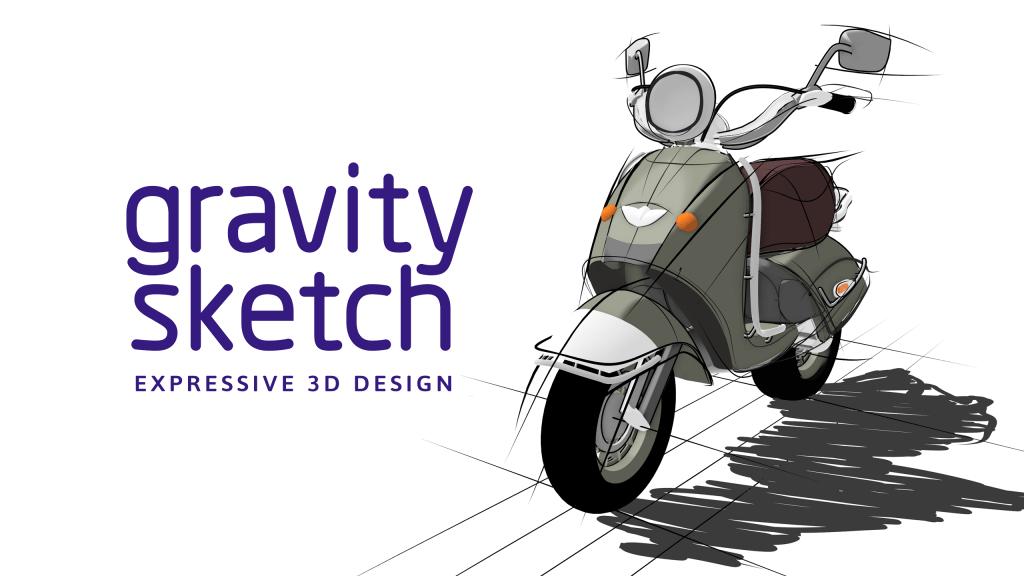 Gravity Sketch Oculus Quest/Rift Bemutató