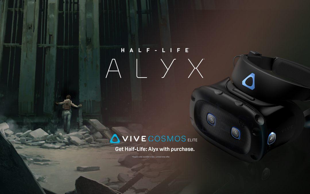 Half-Life: Alyx jár a HTC Vive Cosmos mellé