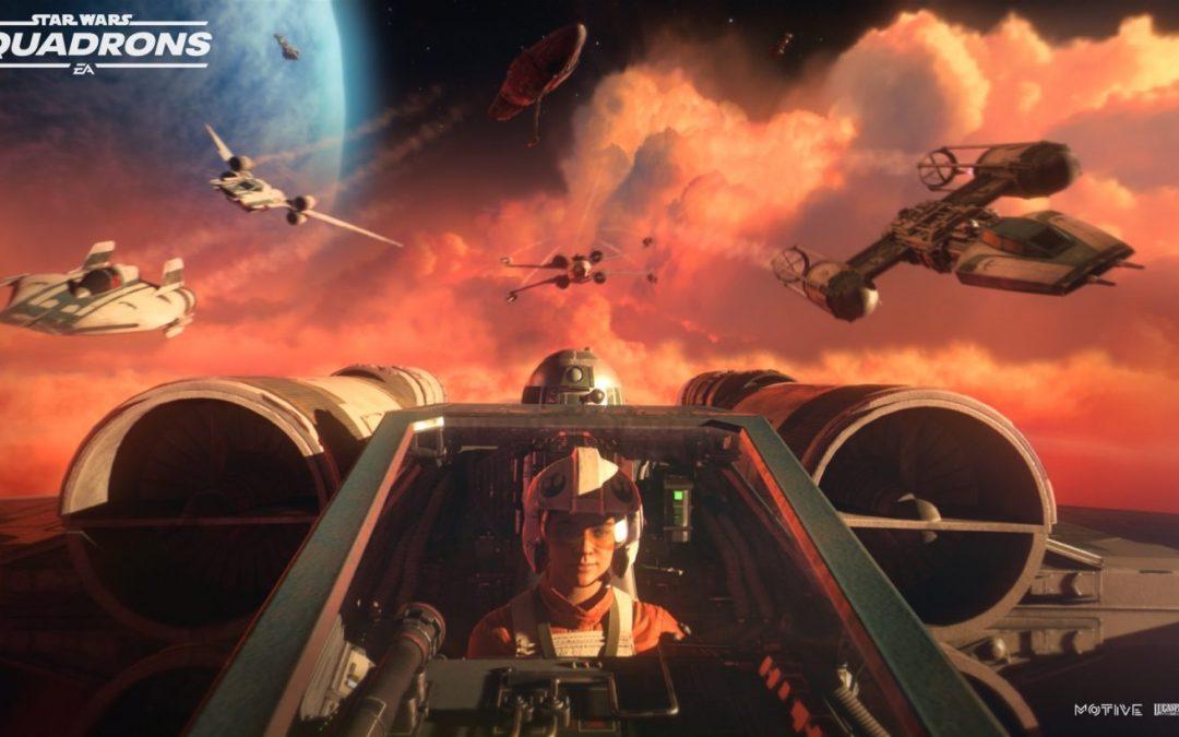 VR támogatással érkezik a Star Wars Squadrons