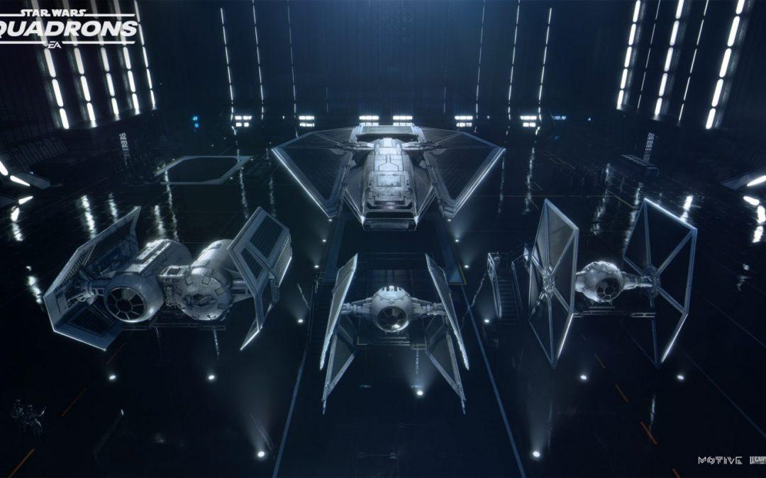 Star Wars Squadrons multiplayer gameplay videók érkeztek