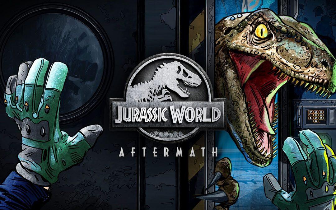 – Holnap jelenik meg a Jurassic World Aftermath
