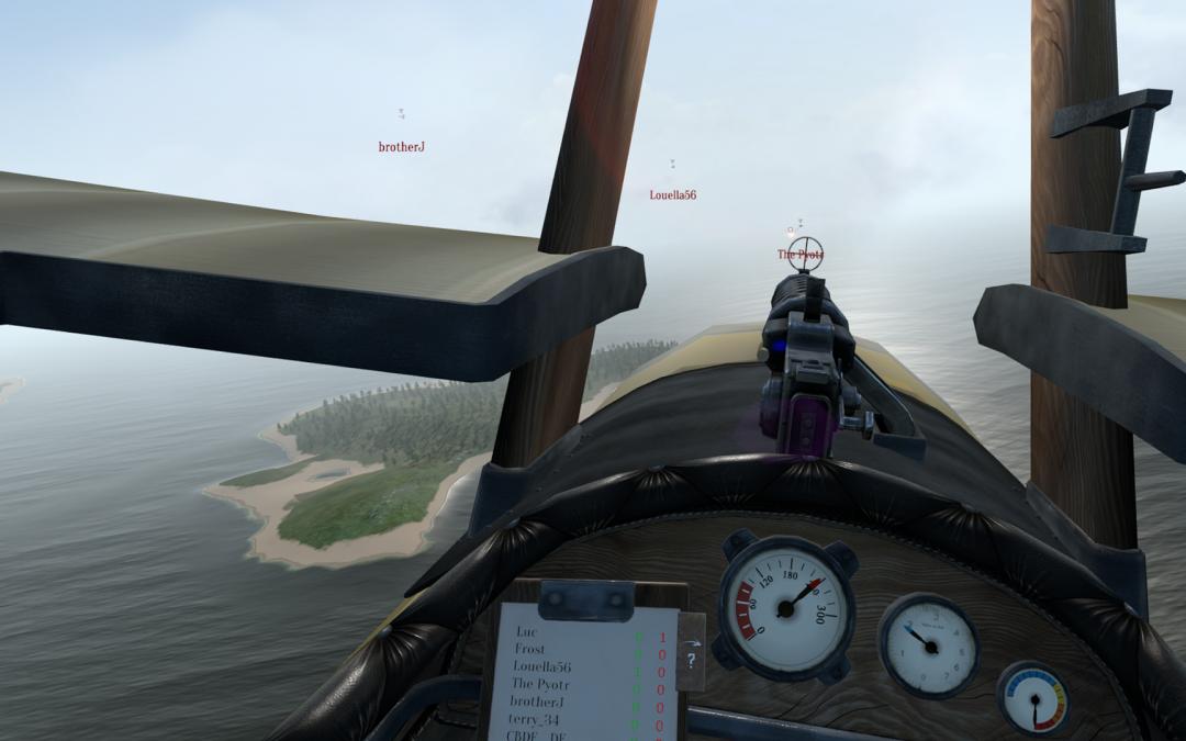 Multiplayer módot kapott a Warplanes: WW1 Fighters